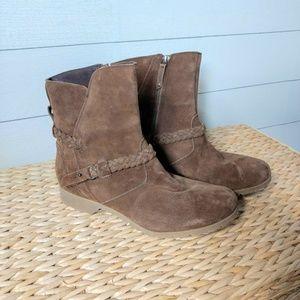 TEVA De-La-Vina Mid-Calf Zip Suede Boots